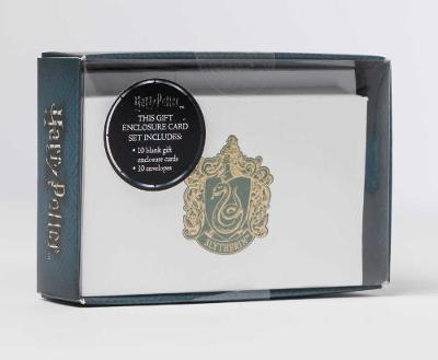 Harry Potter: Slytherin Foil Gift Enclosure Cards (Set Of 10 by Insight Editions
