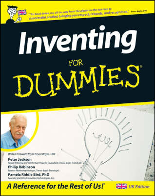 Inventing For Dummies (R) book