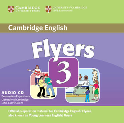 Cambridge Young Learners English Tests Flyers 3 Audio CD book