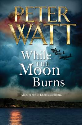 While the Moon Burns by Peter Watt