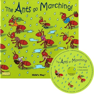 The Ants Go Marching: Classic Book with Holes & CD by Dan Crisp