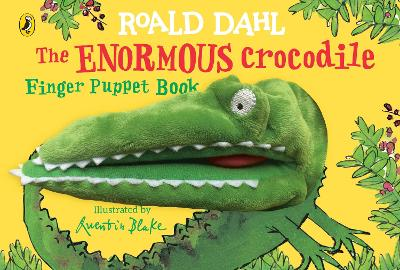 The Enormous Crocodile's Finger Puppet Book book