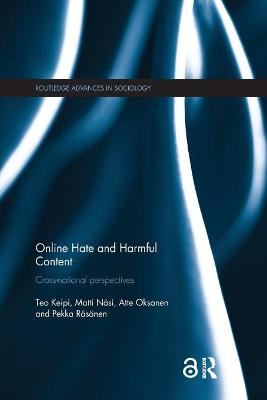 Online Hate and Harmful Content: Cross-National Perspectives book