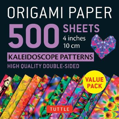Origami Paper 500 sheets Kaleidoscope Patterns 4 (10 cm) by Tuttle