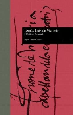 Toms Luis De Victoria book