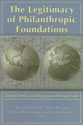 Legitimacy of Philanthropic Foundations by Kenneth Prewitt