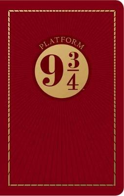Harry Potter: Platform Nine and Three-Quarters Travel Journal by Insight Editions