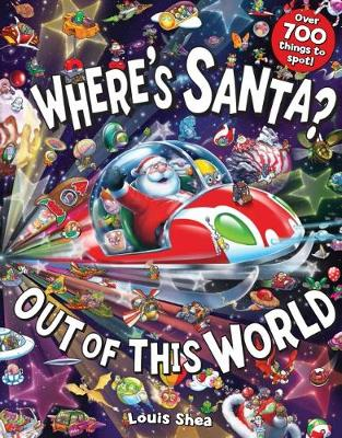 Where's Santa? Out of this World book