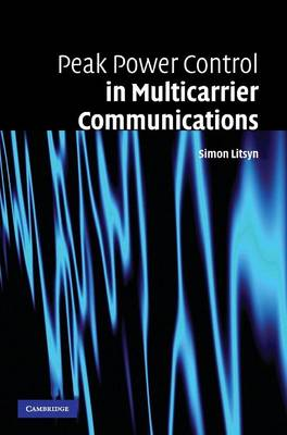 Peak Power Control in Multicarrier Communications book