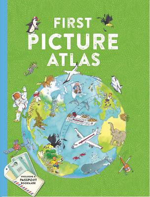 First Picture Atlas by Kingfisher Books
