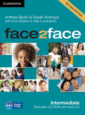 face2face Intermediate Testmaker CD-ROM and Audio CD by Anthea Bazin