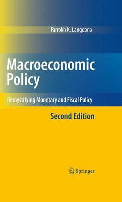 Macroeconomic Policy by Farrokh Langdana