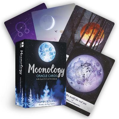 Moonology (TM) Oracle Cards: A 44-Card Deck and Guidebook by Yasmin Boland