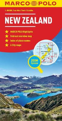New Zealand Marco Polo Map by Marco Polo