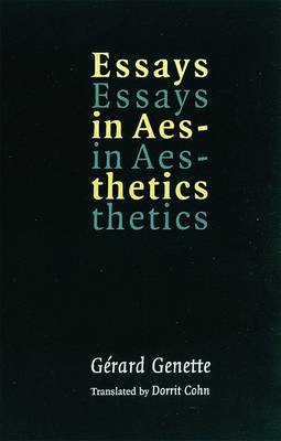Essays in Aesthetics by Gerard Genette