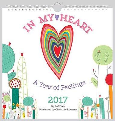 In My Heart 2017 Wall Calendar by Jo Witek