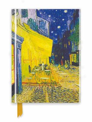 Van Gogh: Cafe Terrace (Foiled Journal) by Flame Tree Studio