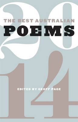 Best Australian Poems 2014 book
