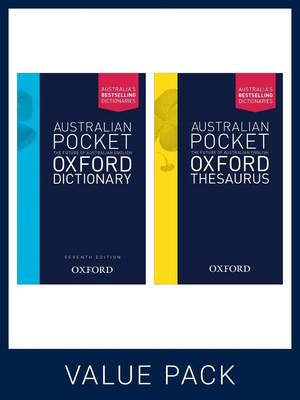 Australian Pocket Oxford Dictionary 7E + Australian Pocket Oxford Thesaurus Pack: Value Pack by Oxford Dictionaries