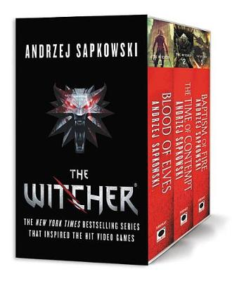 The Witcher Boxed Set: Blood of Elves, the Time of Contempt, Baptism of Fire by Andrzej Sapkowski