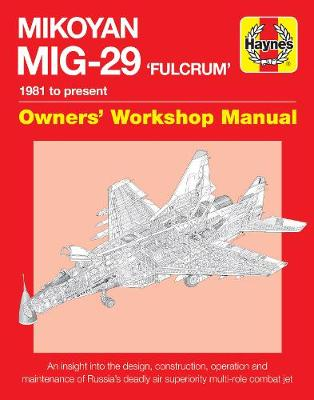 Mikoyan MiG-29 Fulcrum Manual book