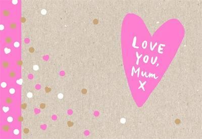 Love You, Mum book