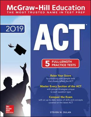 McGraw-Hill ACT 2019 Edition by Steven Dulan