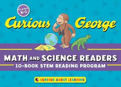 Curious George Math & Science Readers: 10-Book STEM Reading Program by ,H.,A. Rey