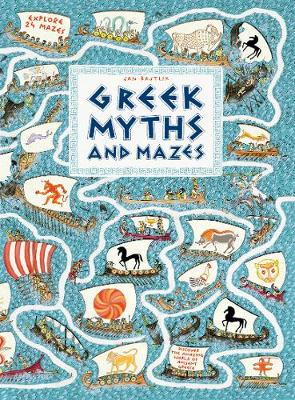 Greek Myths and Mazes book