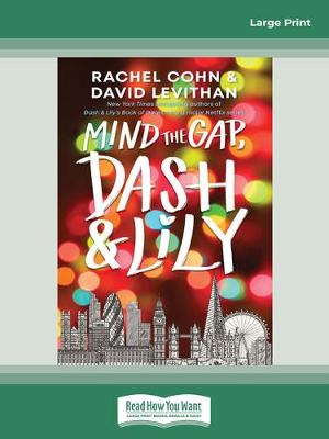 Mind the Gap, Dash and Lily by Rachel Cohn