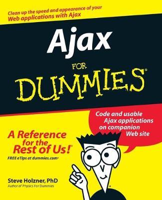 Ajax For Dummies by Steve Holzner