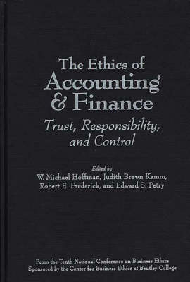 Ethics of Accounting and Finance book