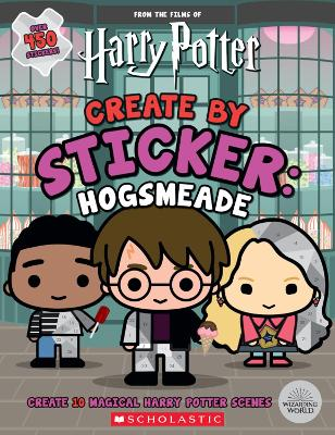 Create by Sticker: Hogsmeade book