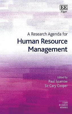 A Research Agenda for Human Resource Management by Paul Sparrow
