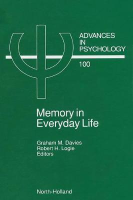 Memory in Everyday Life by Graham M. Davies