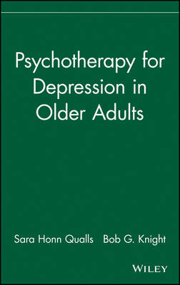 Psychotherapy for Depression in Older Adults by Sara Honn Qualls