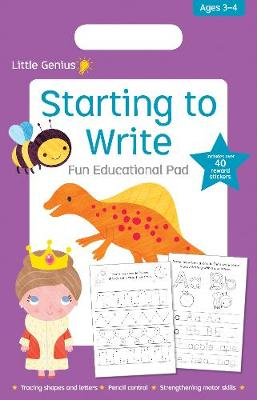 Little Genius Starting to Write Fun Educational Pad book