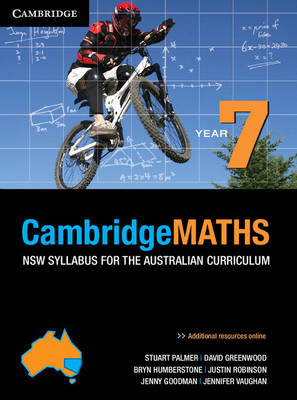 Cambridge Mathematics NSW Syllabus for the Australian Curriculum Year 7 by Stuart Palmer