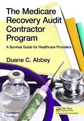 Medicare Recovery Audit Contractor Program book