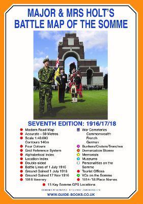 Major & Mrs Holt's Battle Map of The Somme (Map) by Major Holt