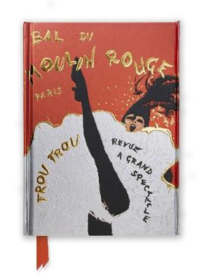 Rene Gruau: Bal du Moulin Rouge (Foiled Journal) by Flame Tree Studio