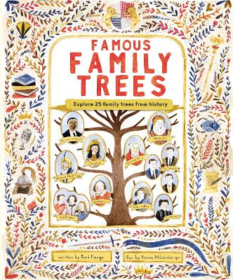 The Famous Family Trees book