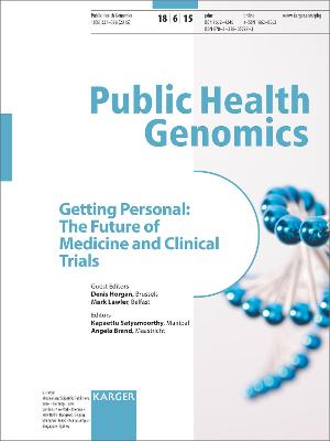Getting Personal: The Future of Medicine and Clinical Trials by D. Horgan