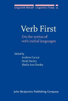 The Verb First by Andrew Carnie