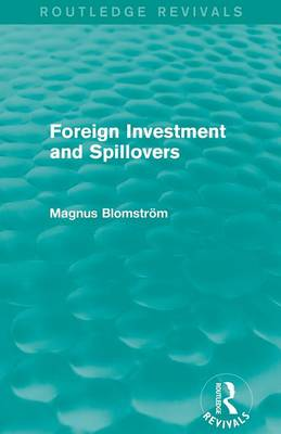 Foreign Investment and Spillovers book