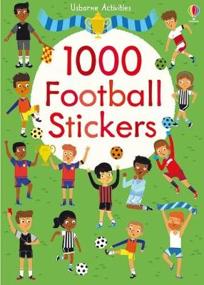 1000 Football Stickers book