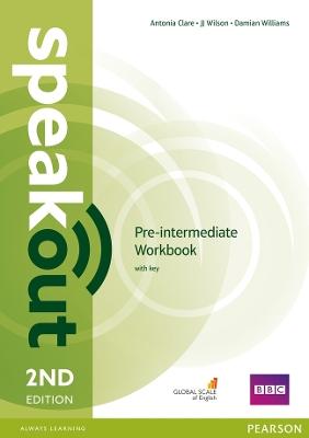 Speakout Pre-Intermediate Speakout Pre-Intermediate 2nd Edition Workbook with Key Pre-intermediate by Damian Williams
