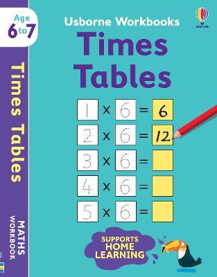 Usborne Workbooks Times Tables 6-7 book