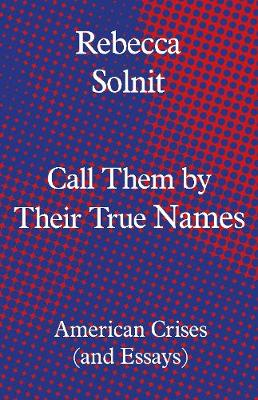Call Them by Their True Names: American Crises (and Essays) by Rebecca Solnit