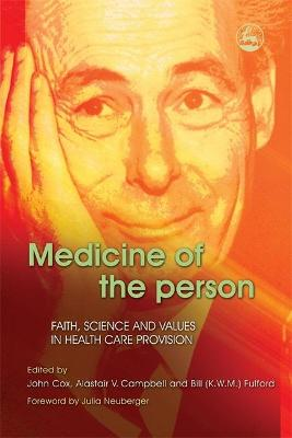 Medicine of the Person by John Cox